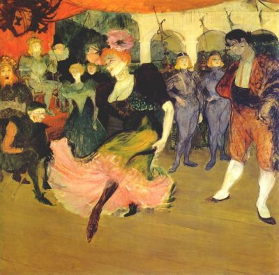 "Henri de Toulouse-Lautrec, Marcelle Lender Dancing the Bolero in ""Chilpéric"", French, 1864 - 1901, 1895-1896, oil on canvas, Collection of Mr. and Mrs. John Hay Whitney"