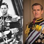 Re George in uniforme