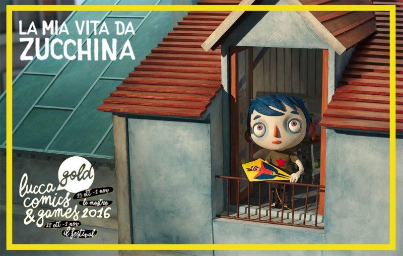 La mia vita da Zucchina al Lucca Comics and Games 2016