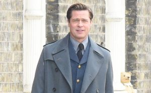 Brad Pitt in Allied
