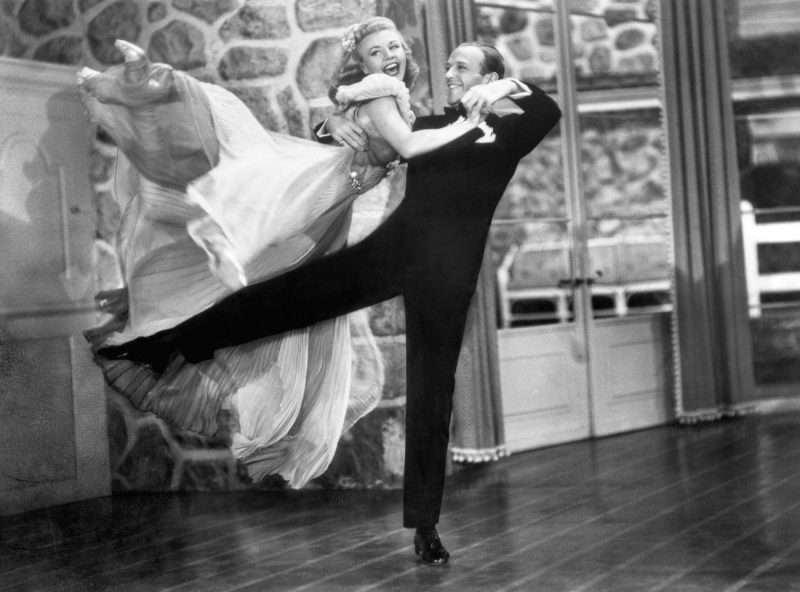 Fred Astaire e Ginger Rogers in Girandola (1938)