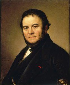 Un ritratto di Stendhal